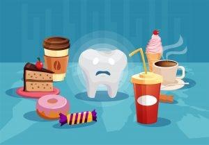 что нельзя есть после отбеливания зубов